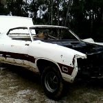Paint removal for classic muscle car remodeling - Dustless Blasting Brevard County