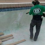 Resurface your concrete pool with dustless blasting - Brevard County Florida Dustless Blasting